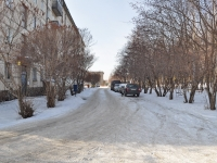 Verkhnyaya Pyshma, Pobedy alley, house 1Б. Apartment house