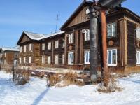 Verkhnyaya Pyshma, Petrov st, 房屋 18А. 公寓楼