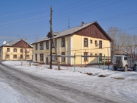 Verkhnyaya Pyshma, Krivousov st, house 31. Apartment house