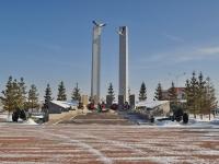Верхняя Пышма, улица Ленина. мемориал участникам погибшим в Великой Отечественной Войне