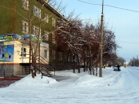 Verkhnyaya Pyshma, Mendeleev st, house 4. Apartment house