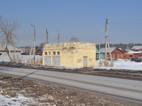neighbour house: st. Uralskikh rabochikh. service building