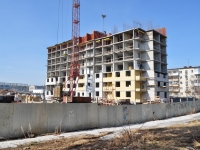 Verkhnyaya Pyshma, Yubileynaya st, house 26. building under construction