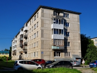 Verkhnyaya Pyshma, Yubileynaya st, house 5. Apartment house