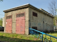 Первоуральск, улица Юбилейная. хозяйственный корпус