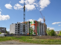 Pervouralsk, Vayner st, building under construction