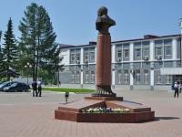 Первоуральск, памятник Ф.А. Даниловуулица Торговая, памятник Ф.А. Данилову