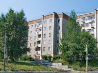 Первоуральск, улица Данилова, дом 11. многоквартирный дом