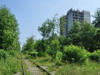 Первоуральск, улица Папанинцев, дом 13. строящееся здание