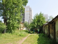 Pervouralsk, Papanintsev st, house 13. building under construction