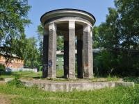 Первоуральск, улица Чкалова. малая архитектурная форма Ротонда