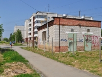 Первоуральск, улица Чкалова. хозяйственный корпус