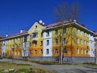 Первоуральск, улица Физкультурников, дом 1. многоквартирный дом