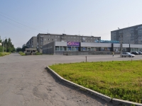 "Pervouralsk, supermarket ""Меридиан"", Komsomolskaya st, house 15Б"
