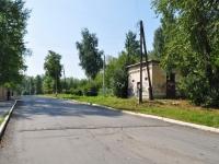 Первоуральск, улица Пушкина. хозяйственный корпус