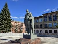 Полевской, улица Коммунистическая. памятник Неизвестный Солдат