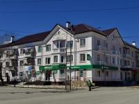 Полевской, улица Ленина, дом 15. многоквартирный дом