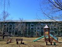 Полевской, Черёмушки микрорайон, дом 4. многоквартирный дом