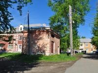 Ревда, улица Азина. хозяйственный корпус