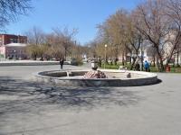 """Нижний Тагил, улица Карла Маркса. фонтан """"Каменный Цветок"""""""