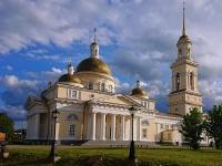 Невьянск, улица Сквер Демидова, дом 1. собор Спасо-Преображенский