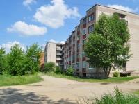 Nevyansk, st Kosmonavtov, house 4. Apartment house