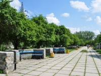 Nevyansk, Maksim Gorky st, public garden