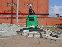 Невьянск, улица Матвеева. памятник Павшим за Советскую Родину