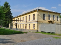 Nevyansk, st Profsoyuzov, house 4. painting school