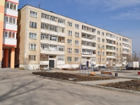 Sredneuralsk, Metallistov alley, house 34. Apartment house