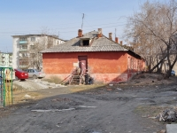 Sredneuralsk, Metallistov alley, house 36. vacant building