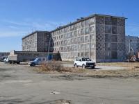 Sredneuralsk, Bakhteev st, 房屋 23А. 公寓楼