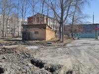 Среднеуральск, улица Бахтеева. хозяйственный корпус