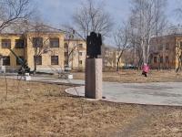 Sredneuralsk, monument И.А. КукаринуKuybyshev st, monument И.А. Кукарину