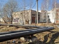 Среднеуральск, улица Парижской Коммуны. хозяйственный корпус