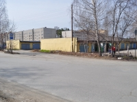 Sredneuralsk, Gashev alley, garage (parking)