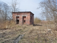 Среднеуральск, улица Набережная. неиспользуемое здание