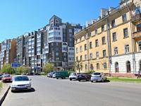 Тамбов, улица Первомайская площадь, дом 25. многоквартирный дом
