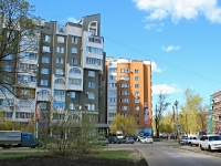 Тамбов, улица Первомайская площадь, дом 26 к.1. многоквартирный дом