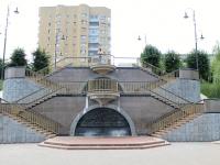 Тамбов, улица Набережная. памятник Тамбовским героям Отечественной войны 1812 г.