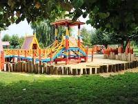 Тамбов, улица Набережная. детская площадка