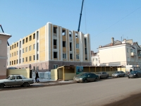 Tambov, st Karl Marks, house 154А. building under construction