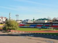 улица Советская. стадион