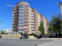 Тамбов, улица Советская, дом 9. строящееся здание
