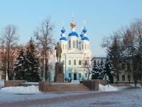 улица Советская. памятник Зое Космодемьянской