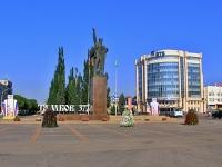 улица Интернациональная. памятник В.И. Ленину