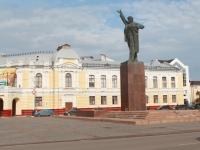 Тамбов, памятник В.И. Ленинуулица Интернациональная, памятник В.И. Ленину