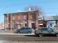 Тамбов, улица Базарная, дом 111. многоквартирный дом