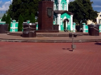 Tambov, square Sobornaya. monument