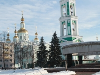 Tambov, cathedral Спасо-Преображенский, Sobornaya square, house 4